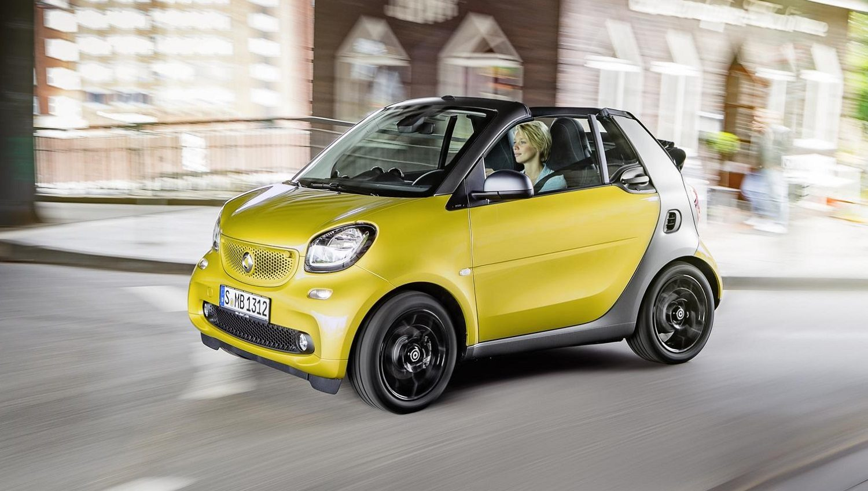 Smart fortwo cabrio 0.9 twinamic 90 hp prime