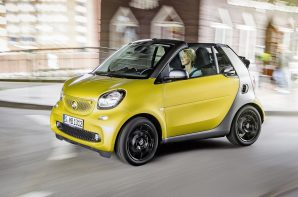Smart fortwo cabrio 0.9 twinamic 90 hp passion