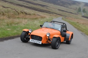 caterham seven roadsport 125