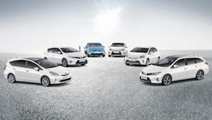 toyota hybrid cars