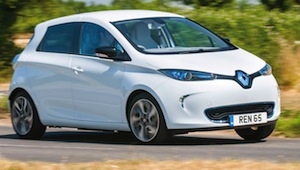 renault zoe electric supermini