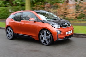bmw i3 low emission car