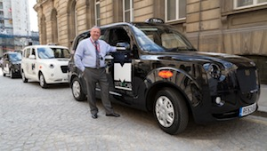 Metrocab Range Extended Electric Taxi
