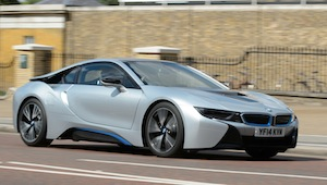 bmw i8 low emission car
