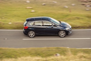Top view of BMW 2 Series Active Tourer