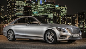 Mercedes-Benz S 500 PLUG-IN HYBRID: 100mpg