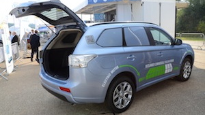 Mitsubishi Outlander GX3h 4Work – Plug-in Hybrid Commercial Vehicle