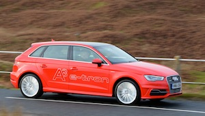 audi a3 e-tron low emission car