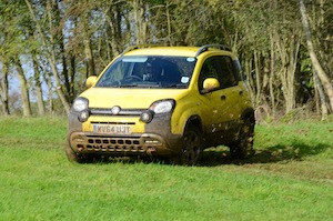fiat panda cross