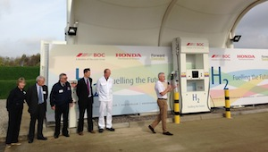 honda hydrogen station swindon