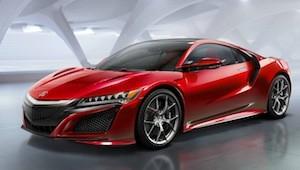 Honda NSX hybrid supercar