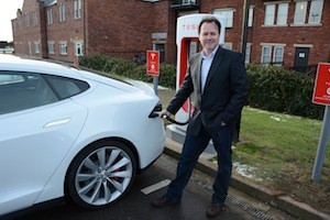 tesla model s knutsford