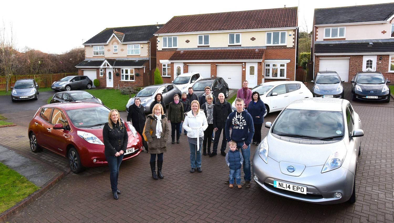 My Electric Avenue South Shields cluster