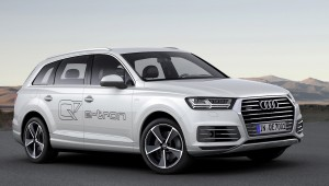 Audi Q7 e-tron quattro: 166mpg