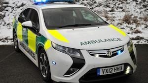Vauxhall Ampera Ambulance