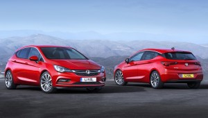 New Vauxhall Astra is 200kg lighter