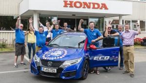 Honda Civic Tourer 1.6 i-DTEC sets 100mpg record