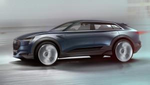 All-electric Audi e-tron quattro concept