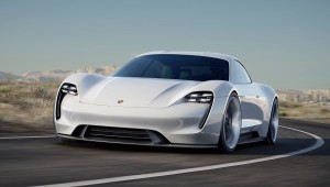 Electric Porsche Mission E Concept