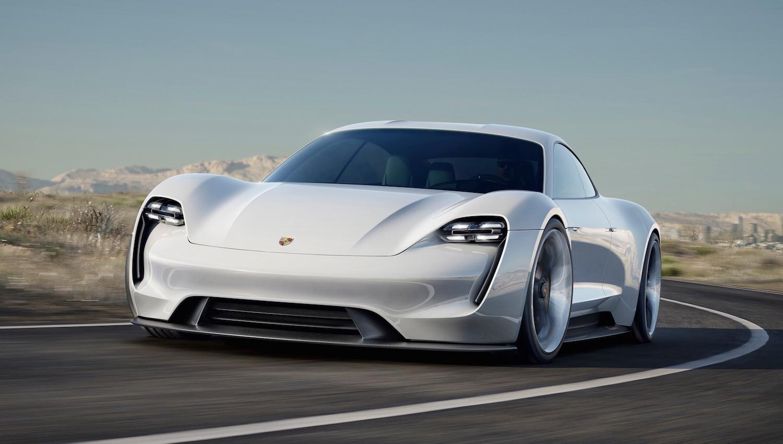 Electric Porsche Mission E Concept