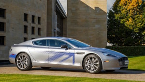 Electric Aston Martin Rapide S