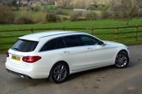 Mercedes-Benz C-Class Estate 350 e Sport 7G-Tronic Plus 17 inch wheels
