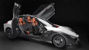 BladeGlider prototype a Nissan sports EV?