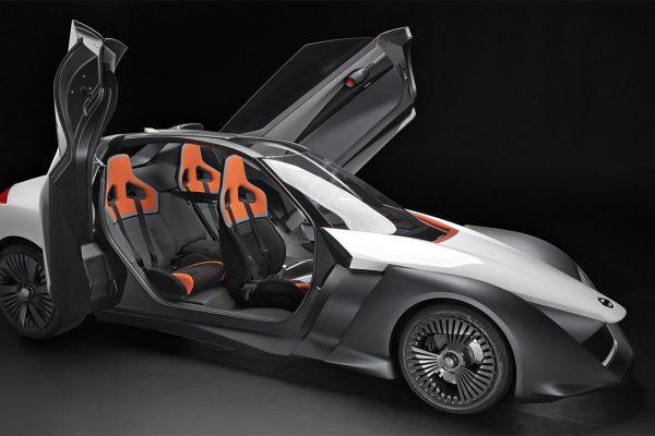 Nissan 2016 BladeGlider prototype with doors open
