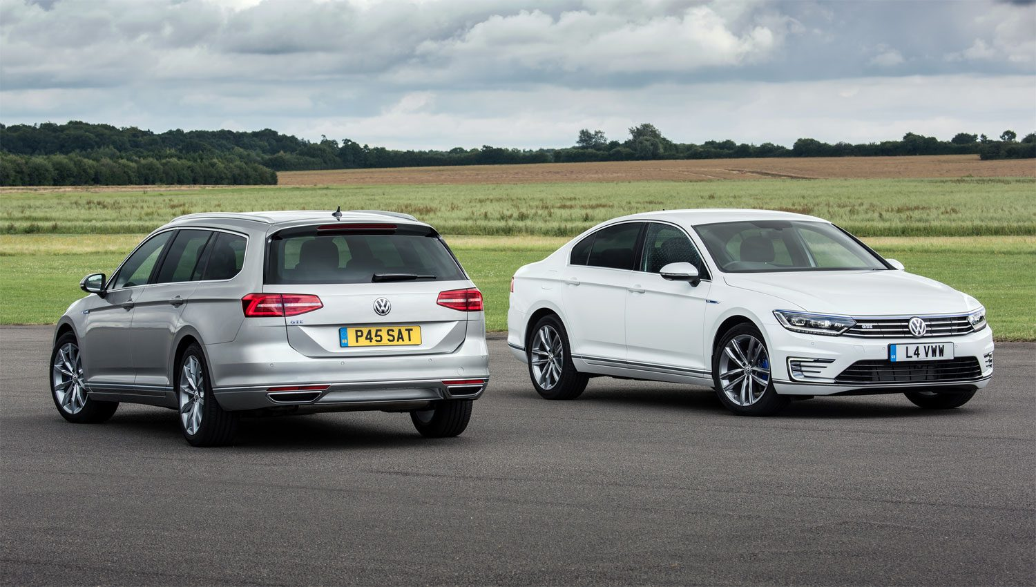 Volkswagen Passat GTE in saloon and estate versions