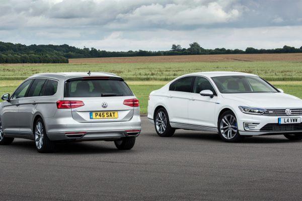Volkswagen Passat GTE in saloon and estate versions