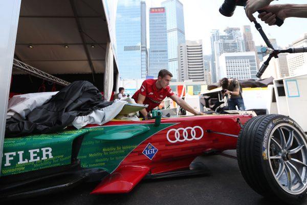 FIA Formula E, race 1 Hongkong