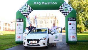 Mazda 2 diesel achieves 91mpg in MPG Marathon
