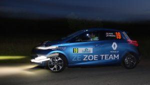 Renault ZOE wins 2016 e-Rallye Monte-Carlo