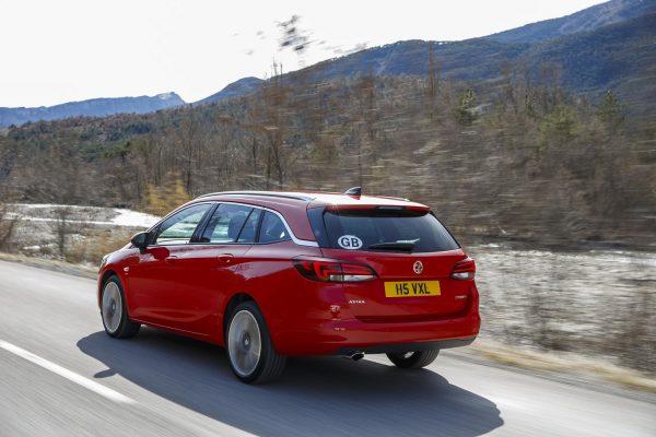 Vauxhall Astra Sports Tourer Design 1.0i (105 PS) Turbo S/S ecoFLEX