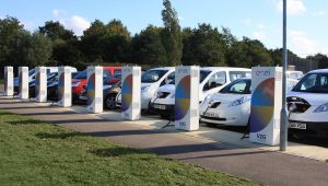 Nissan installs vehicle-to-grid technology