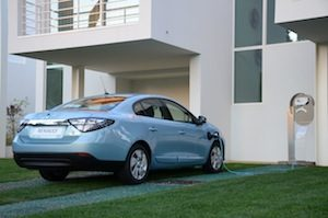 Renault fluence 001 low emission cars