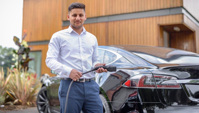 Electric Nation Tesla charging