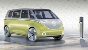 Volkswagen I.D. BUZZ electric MPV concept