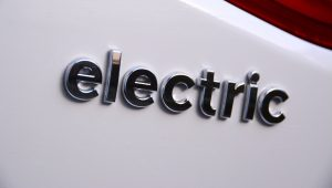 electric car badge