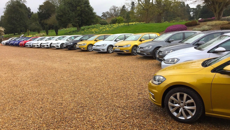 A great looking green corporate fleet