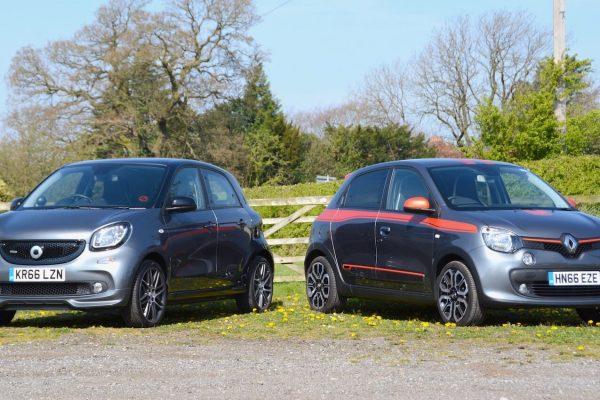 Renault Twingo GT & smart forfour BRABUS