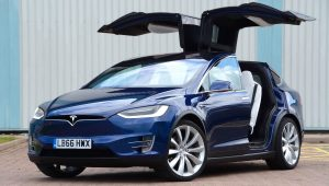 Tesla Model X Ultra-Low Emission Vehicle