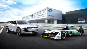 Audi e-tron FE04 all-electric racing car
