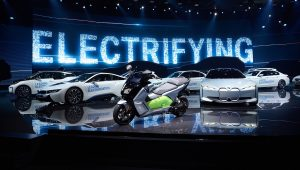 Green Cars at the Frankfurt Motor Show 2017