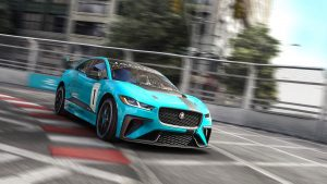 Jaguar's first production battery electric vehicle race series