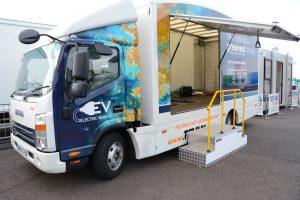 LCV2017 014 Tevva Truck