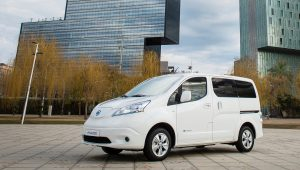 Nissan e-NV200 all-electric van with 174 mile range