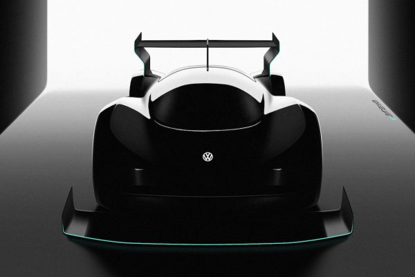 Volkswagen all-electric race car for Pikes Peak