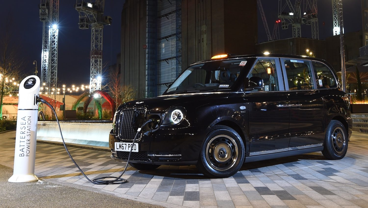Electric London Taxi