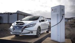 Nissan LEAF Vehicle-to-grid